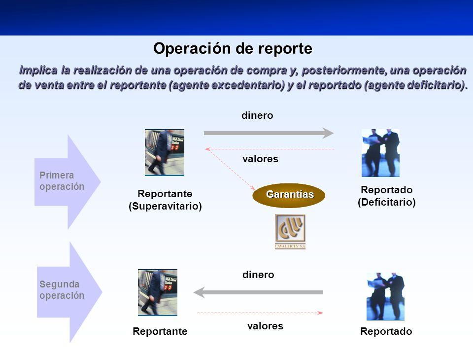 Operación de reporte