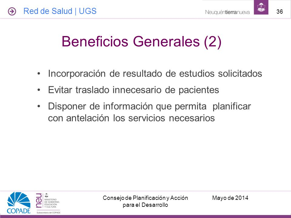 Beneficios Generales (2)