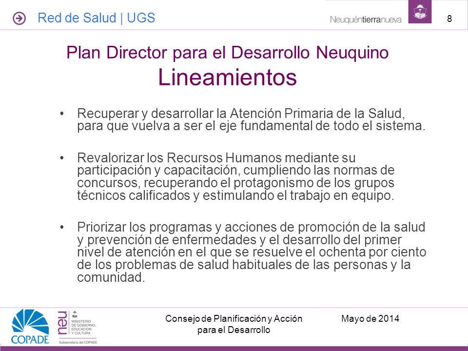 Plan Director para el Desarrollo Neuquino Lineamientos