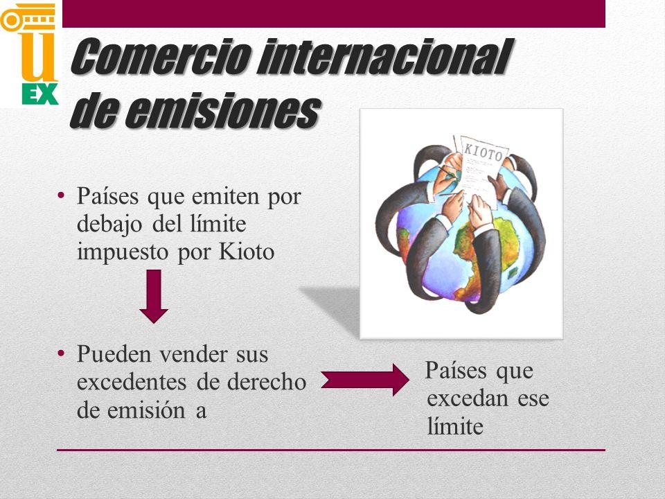 Comercio internacional de emisiones