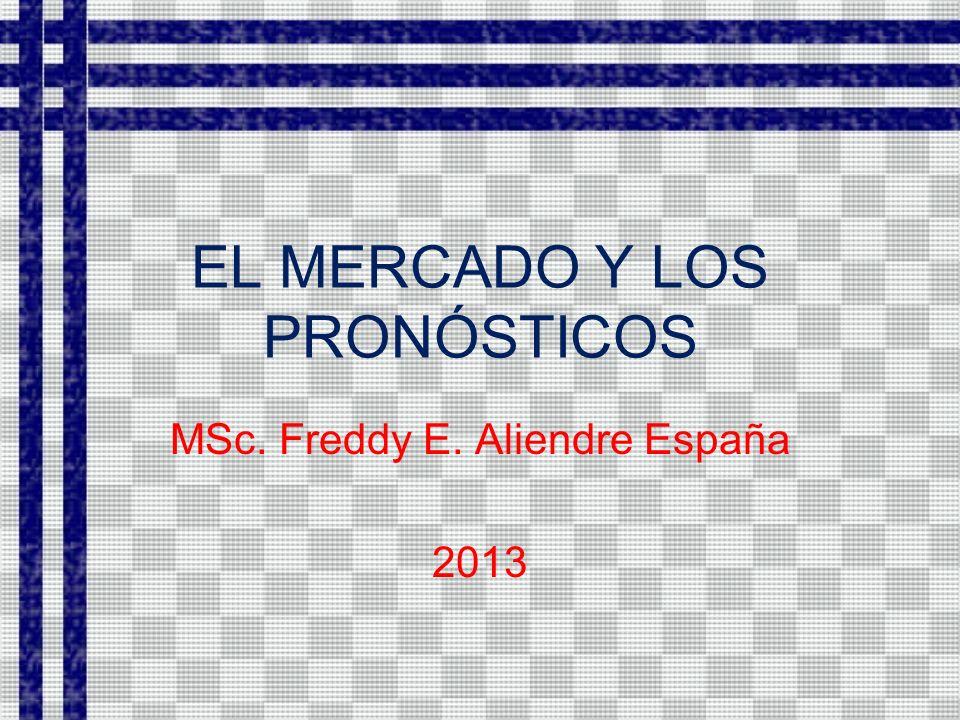 EL MERCADO Y LOS PRONÓSTICOS