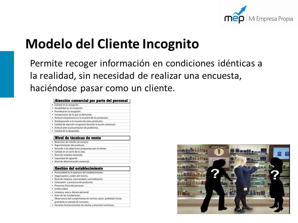 Modelo del Cliente Incognito