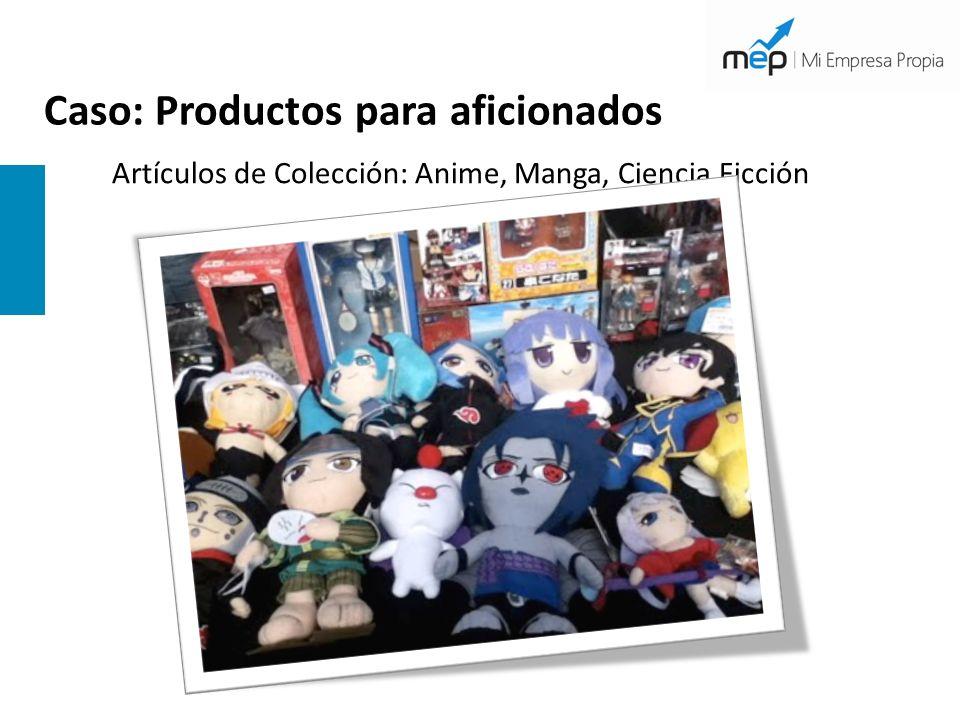 Caso: Productos para aficionados