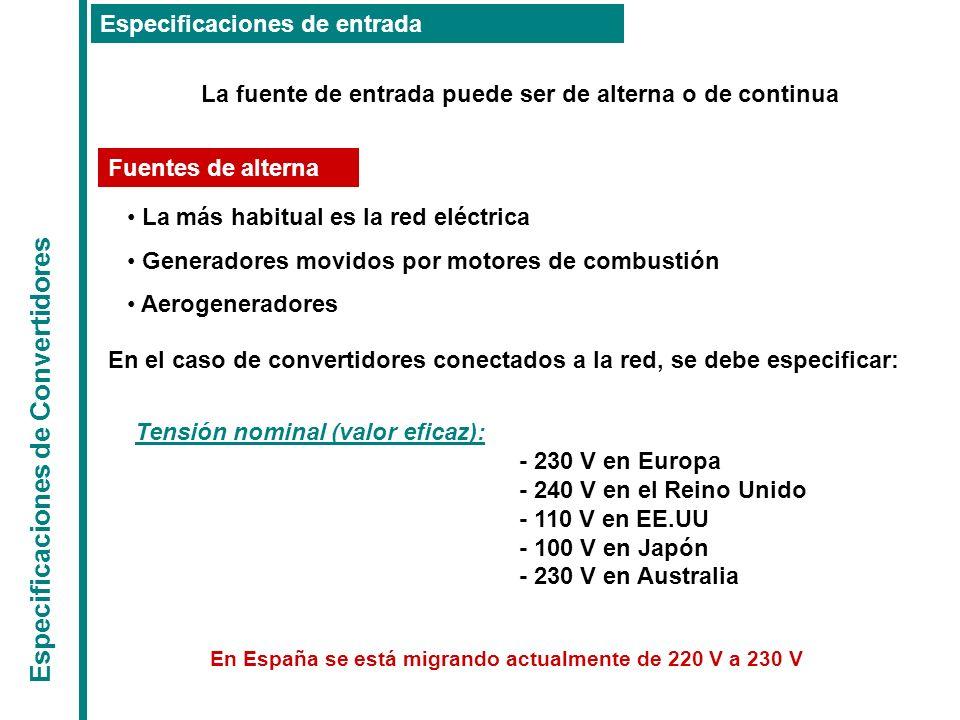 En España se está migrando actualmente de 220 V a 230 V