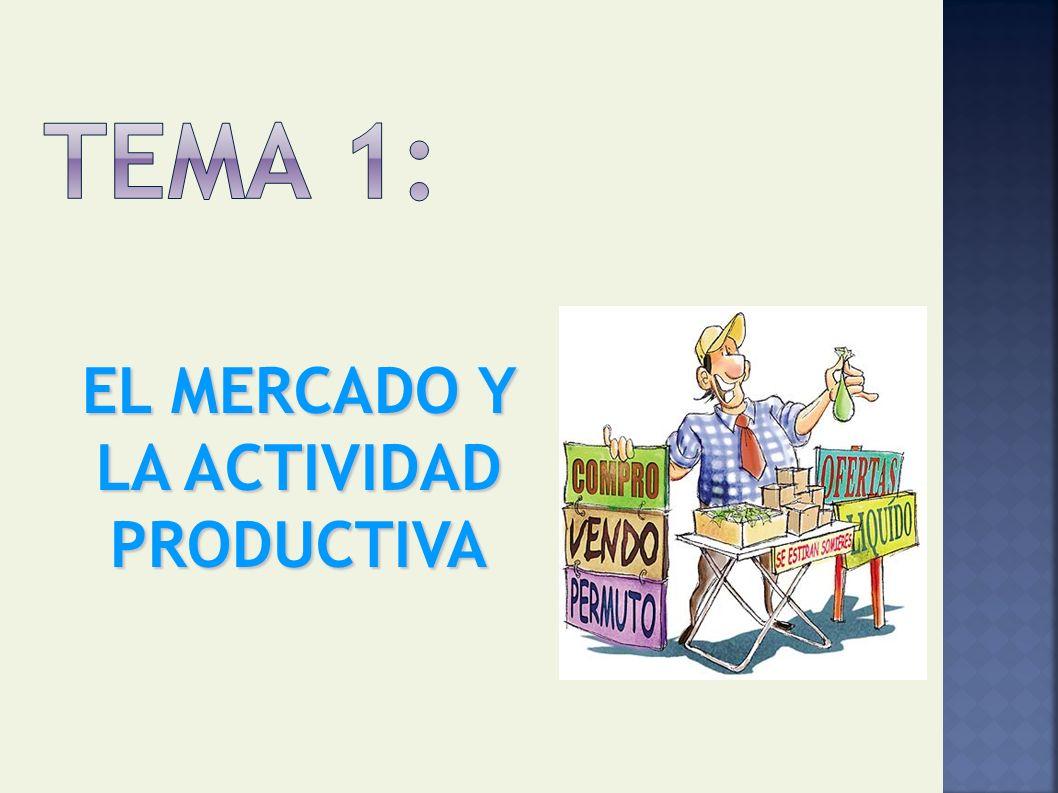 EL MERCADO Y LA ACTIVIDAD PRODUCTIVA