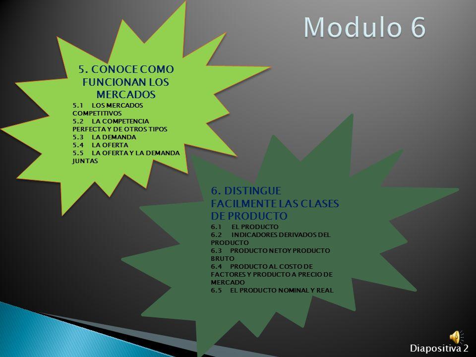 5. CONOCE COMO FUNCIONAN LOS MERCADOS