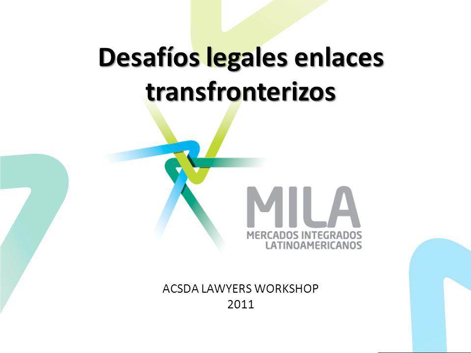 Desafíos legales enlaces transfronterizos