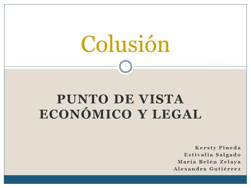 Punto de vista Económico y legal