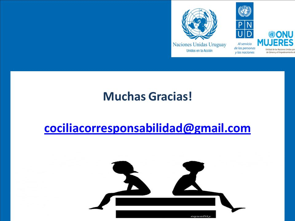 Muchas Gracias! cociliacorresponsabilidad@gmail.com