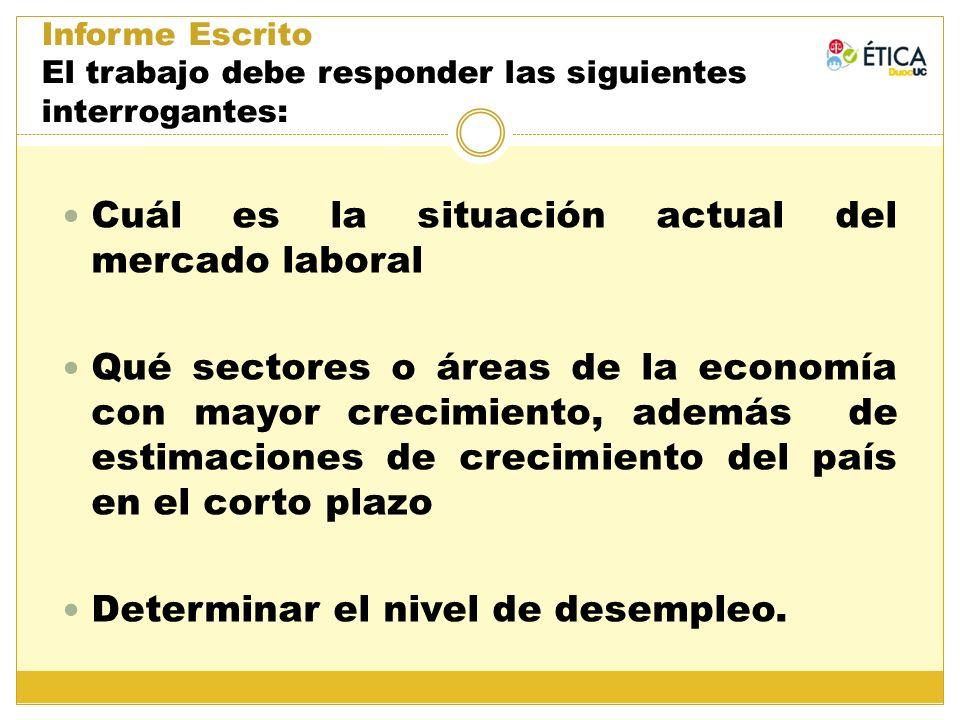 Cuál es la situación actual del mercado laboral