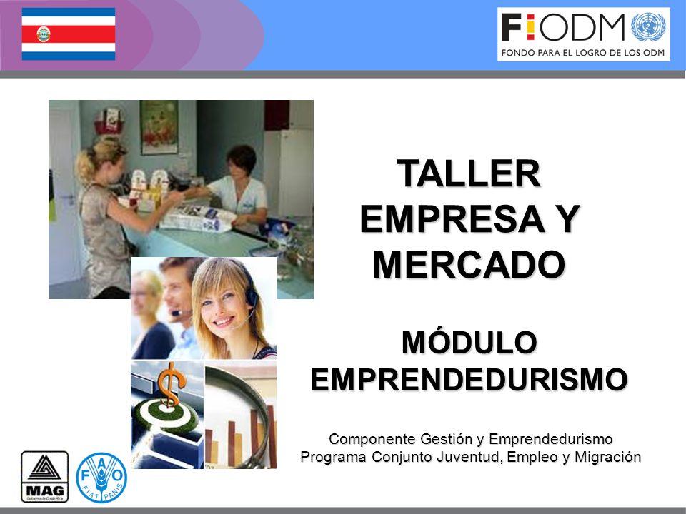TALLER EMPRESA Y MERCADO