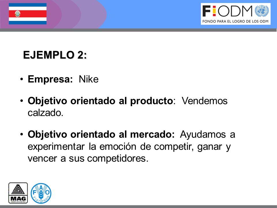 EJEMPLO 2: Empresa: Nike
