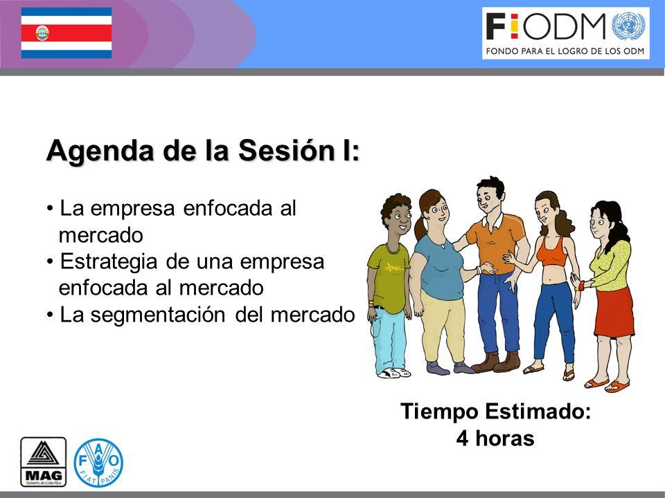 Agenda de la Sesión I: La empresa enfocada al mercado