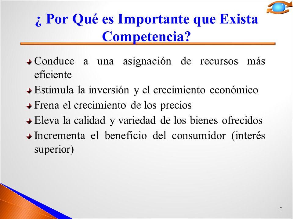 ¿ Por Qué es Importante que Exista Competencia