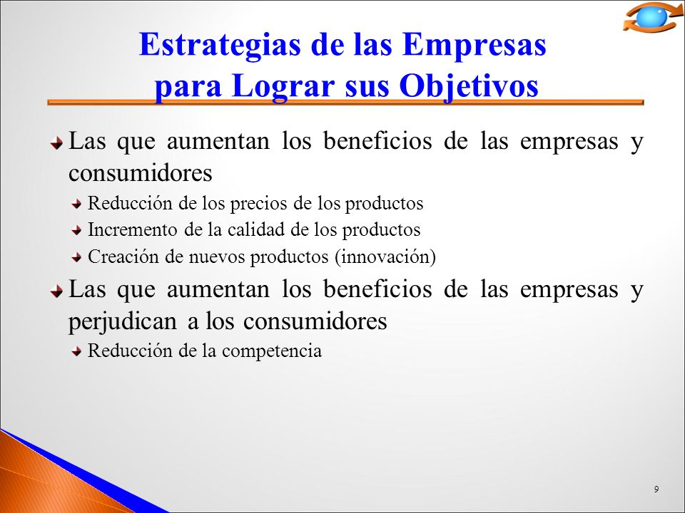Estrategias de las Empresas para Lograr sus Objetivos