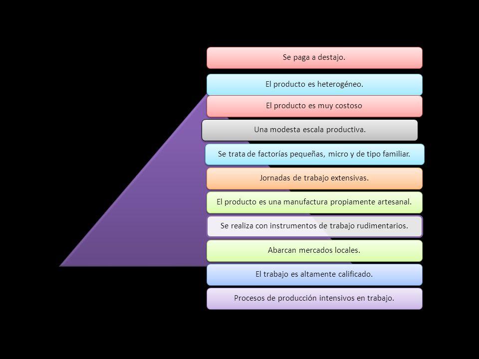 El producto es heterogéneo.