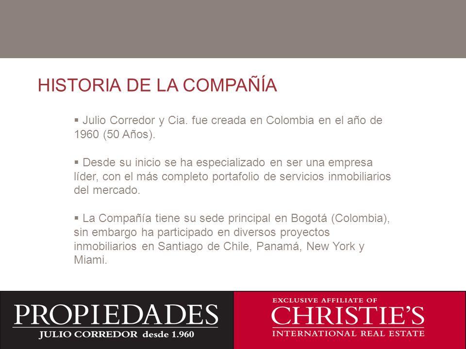 HISTORIA DE LA COMPAÑÍA