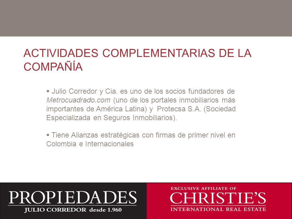 ACTIVIDADES COMPLEMENTARIAS DE LA COMPAÑÍA