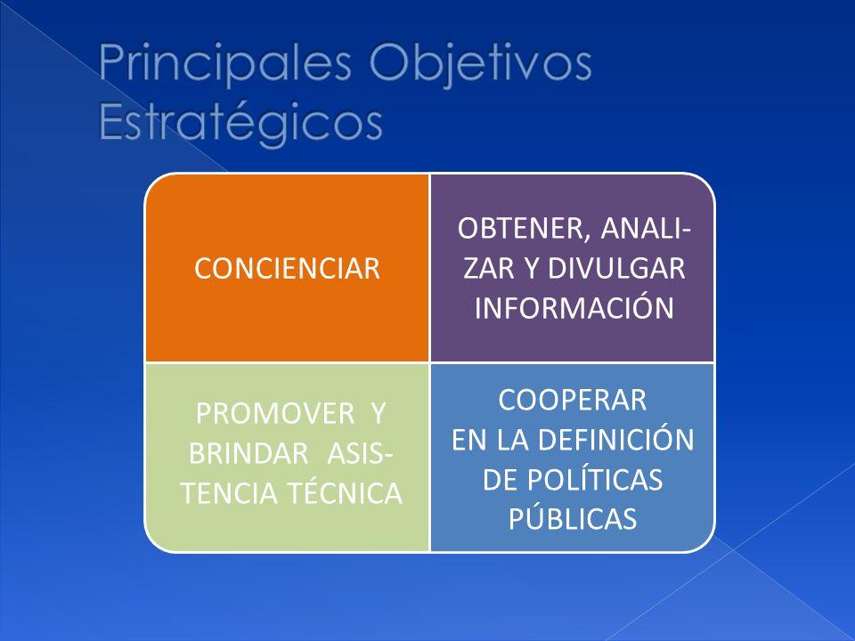 Principales Objetivos Estratégicos