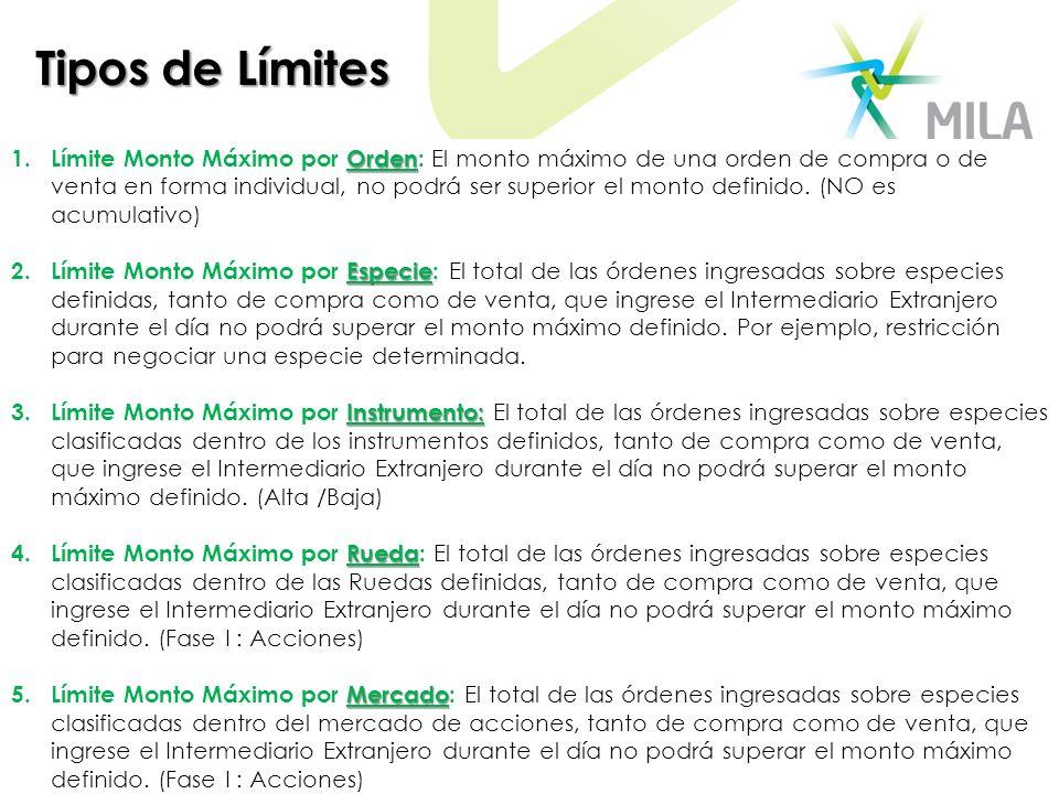 Tipos de Límites