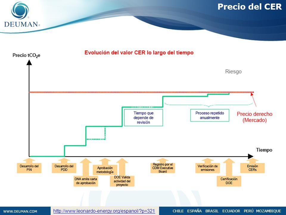 Precio del CER http://www.leonardo-energy.org/espanol/ p=321