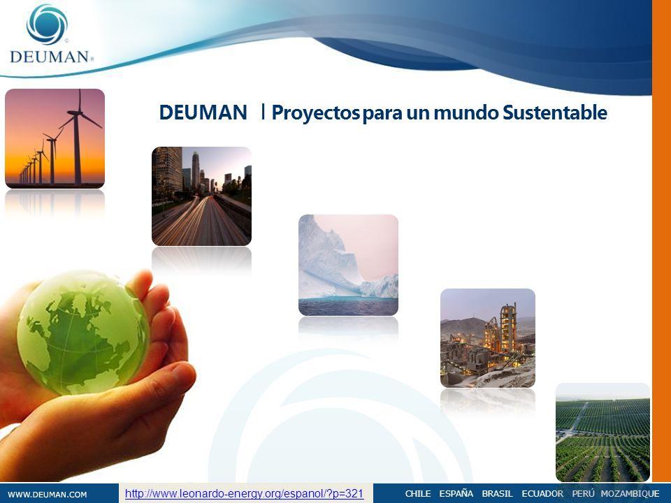 DEUMAN I Proyectos para un mundo Sustentable