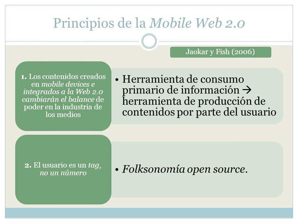 Principios de la Mobile Web 2.0