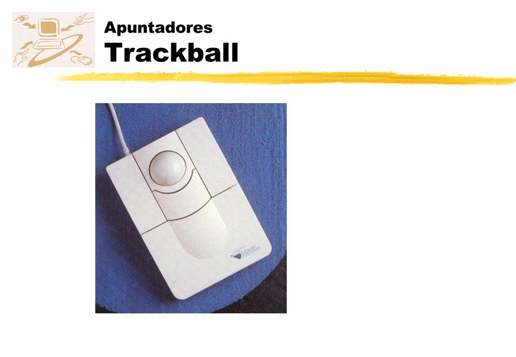 Apuntadores Trackball