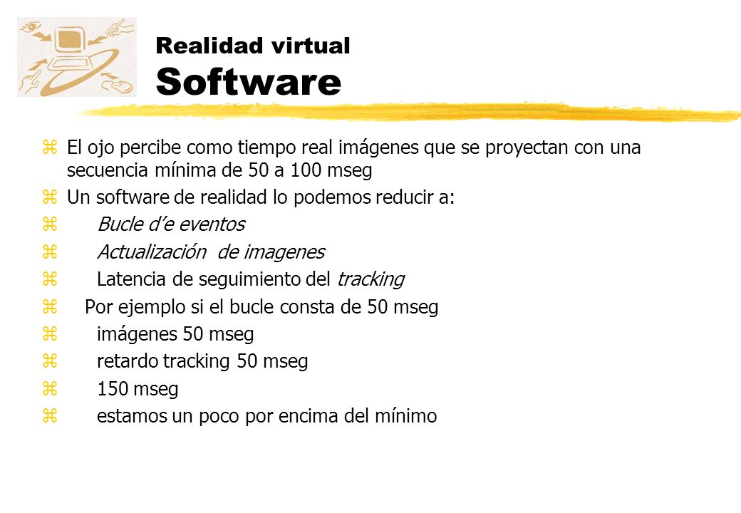 Realidad virtual Software