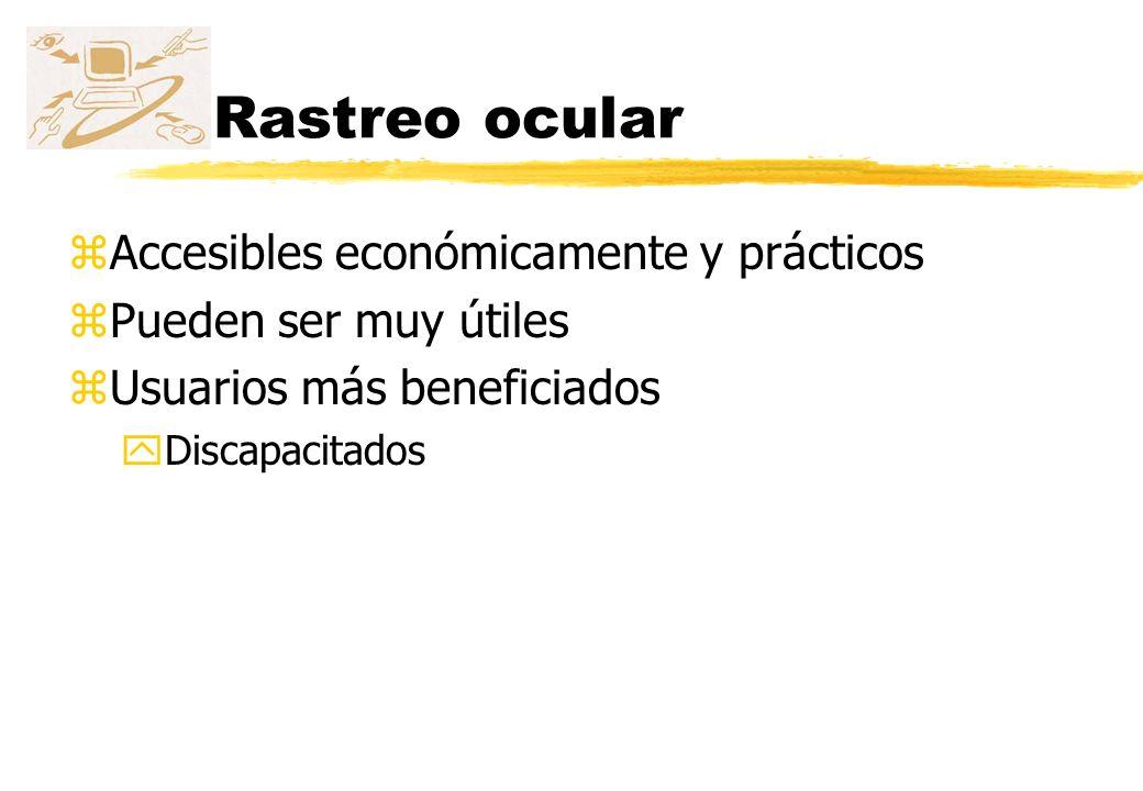 Rastreo ocular Accesibles económicamente y prácticos