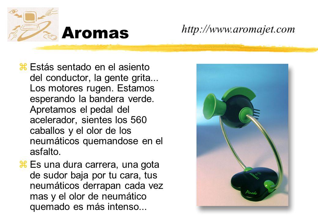 Aromas http://www.aromajet.com