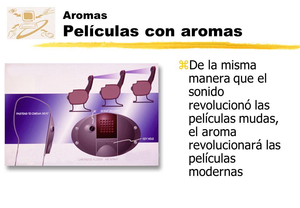 Aromas Películas con aromas