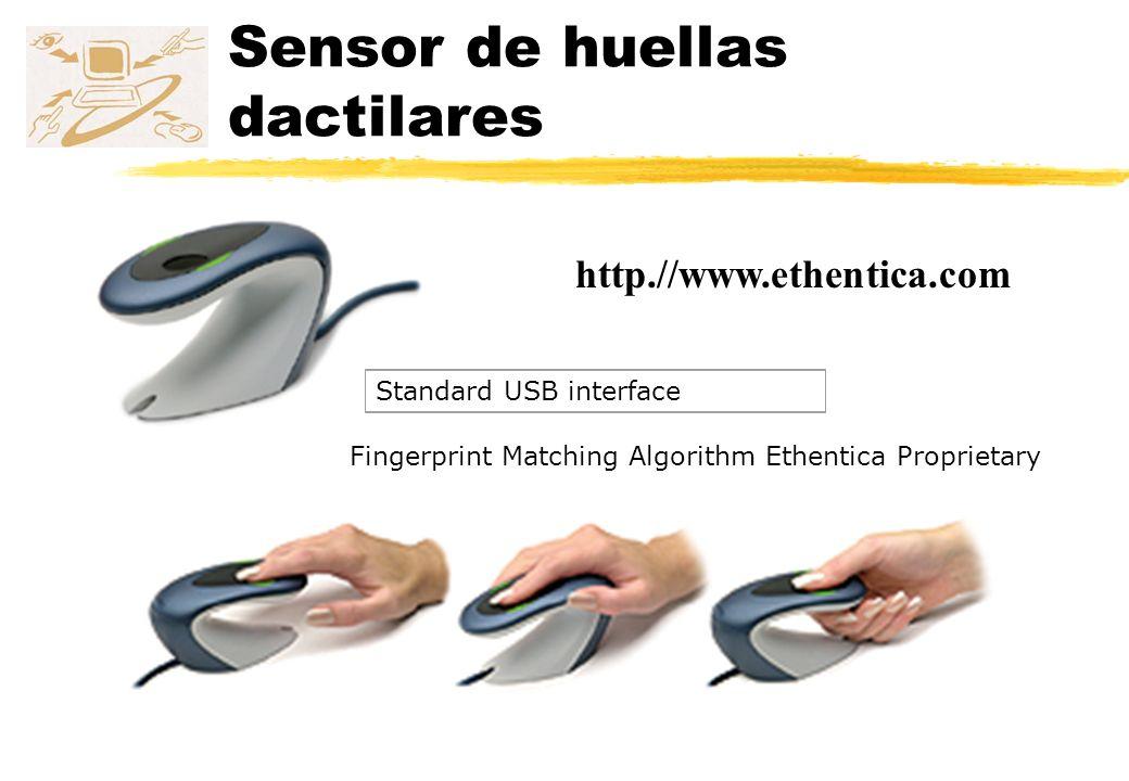 Sensor de huellas dactilares