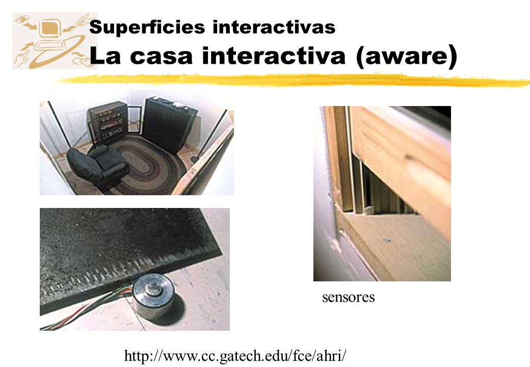 Superficies interactivas La casa interactiva (aware)