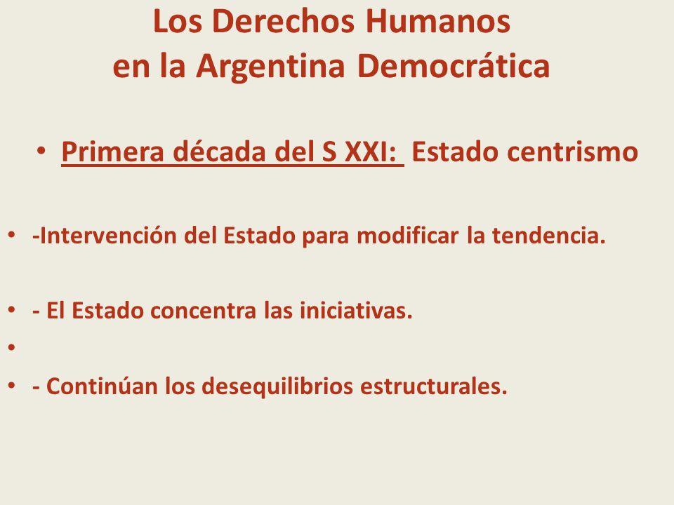 Los Derechos Humanos en la Argentina Democrática
