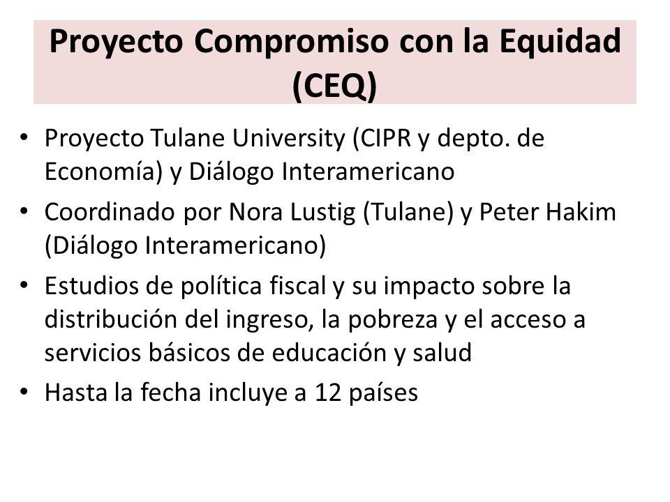 Proyecto Compromiso con la Equidad (CEQ)