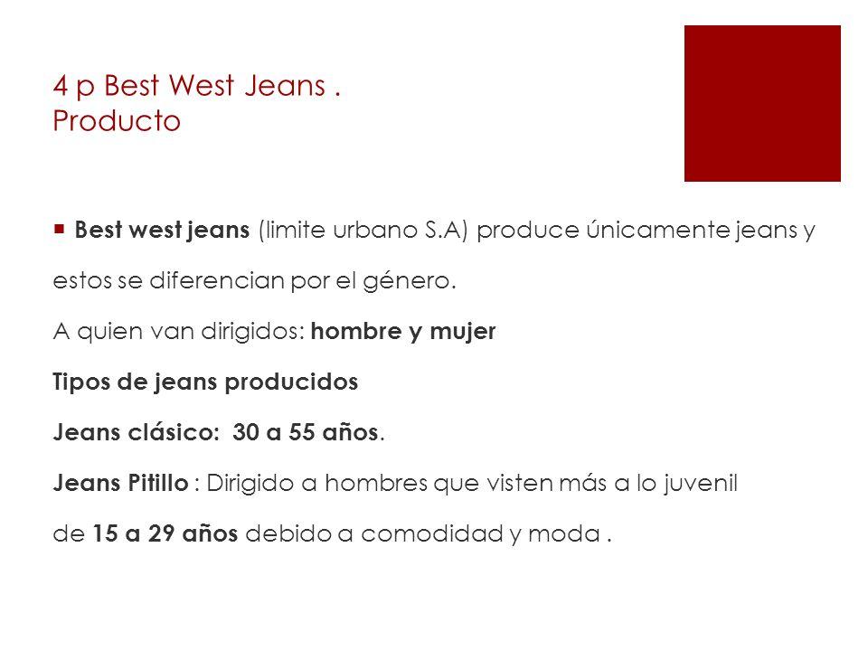 4 p Best West Jeans . Producto