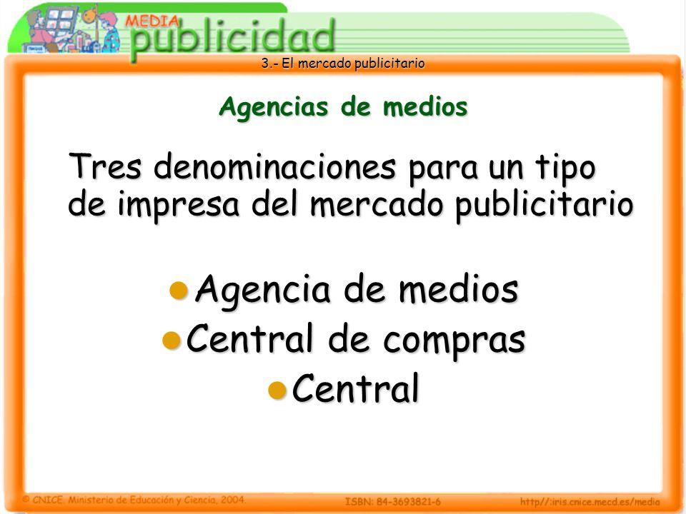Agencia de medios Central de compras Central Agencias de medios