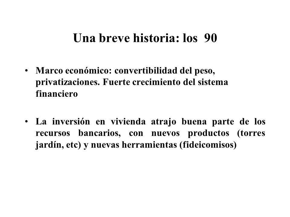 Una breve historia: los 90