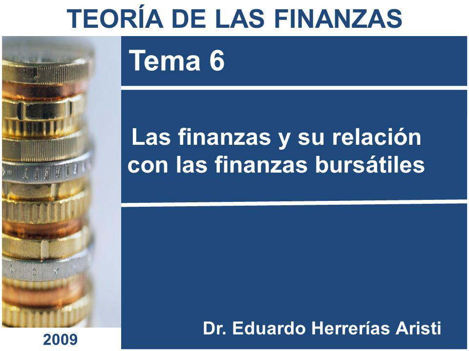 Las finanzas y su relación con las finanzas bursátiles