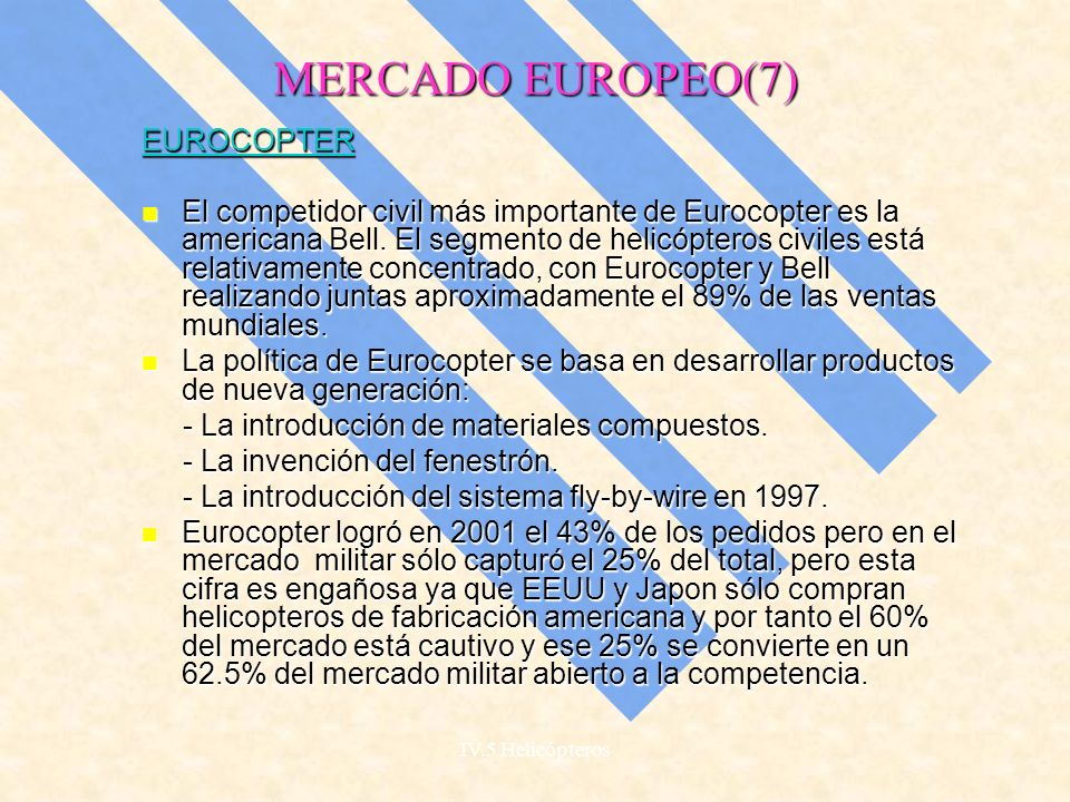 MERCADO EUROPEO(7) EUROCOPTER