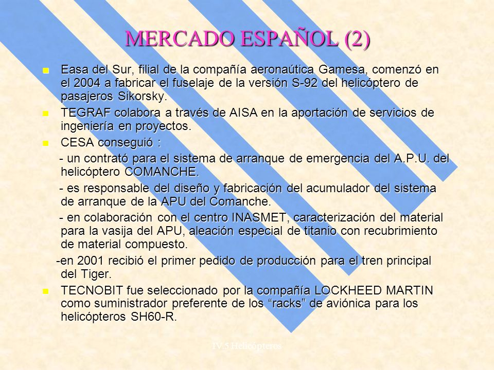 MERCADO ESPAÑOL (2)