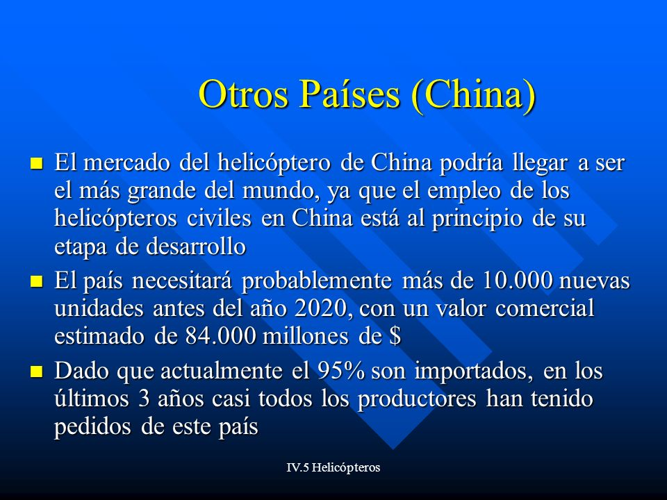Otros Países (China)