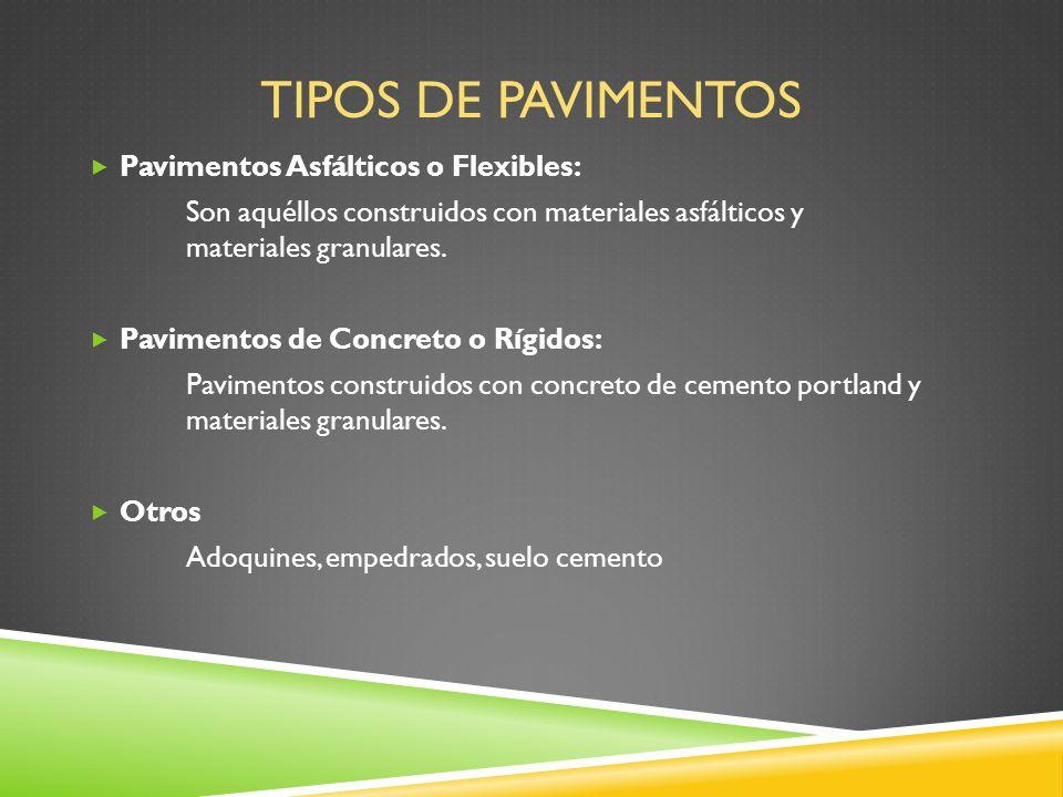 Pavimentos flexibles y r gidos ppt descargar - Clases de pavimentos ...