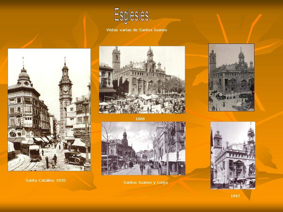 Esglesies Vistas varias de Santos Juanes 1888 Santa Catalina 1920