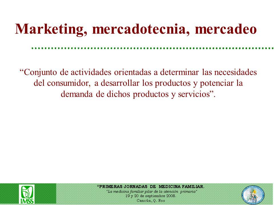 Marketing, mercadotecnia, mercadeo