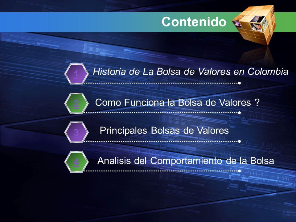 Contenido Historia de La Bolsa de Valores en Colombia 1