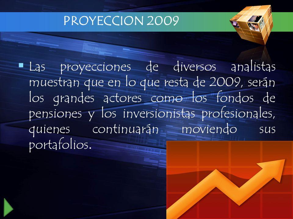 PROYECCION 2009