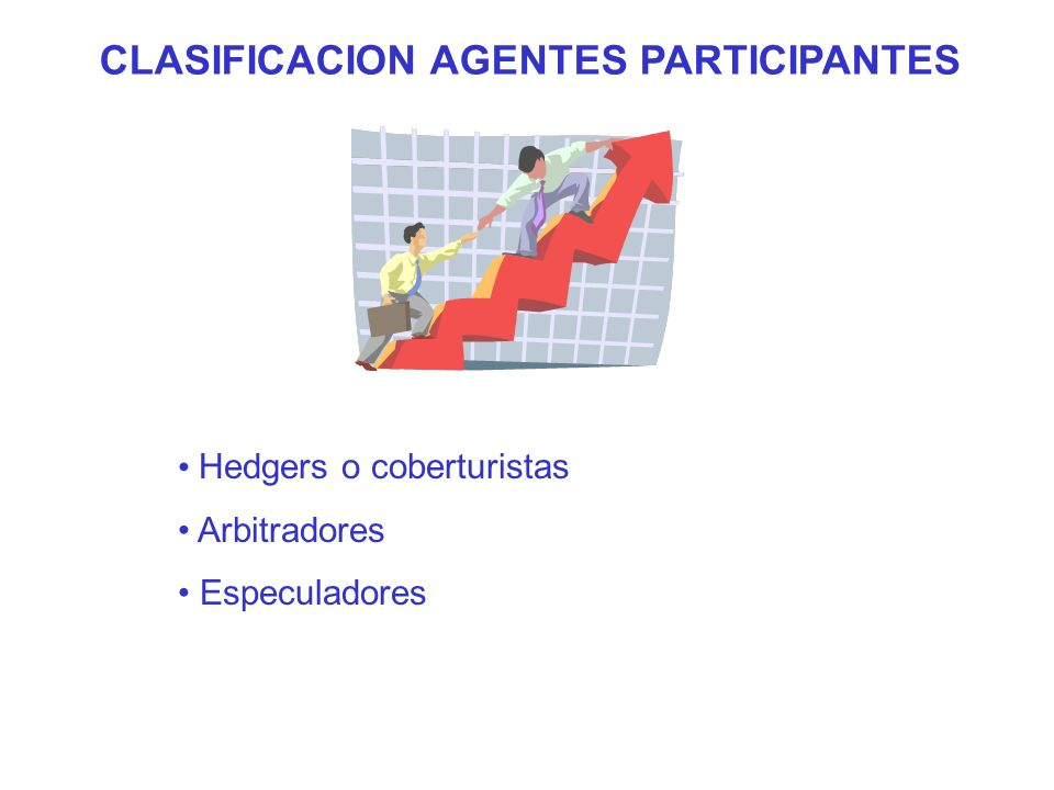 CLASIFICACION AGENTES PARTICIPANTES