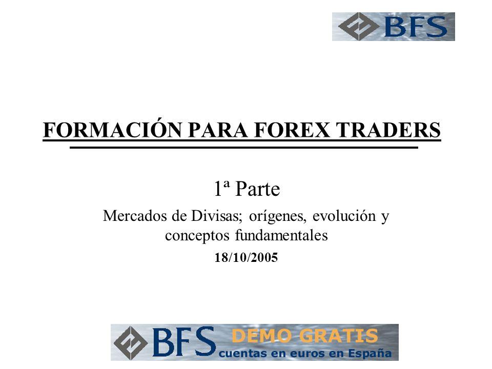 FORMACIÓN PARA FOREX TRADERS